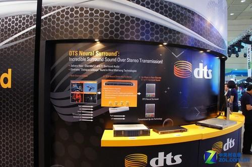 高清级音效 DTS环绕技术亮相KOBA2011