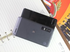 摩托罗拉 XT883 黑色 背面图