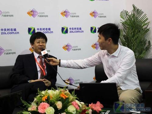 刘洪新:海信智能电视占有率居中国第一