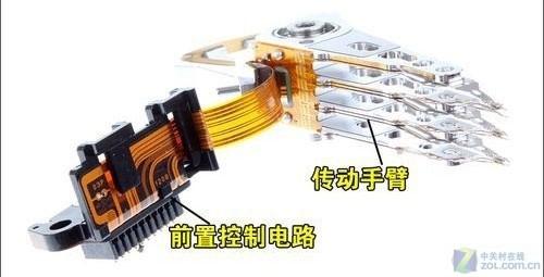 硬盘基本构造详解:   硬盘主要由盘片,盘片驱动器,磁头及控制装置