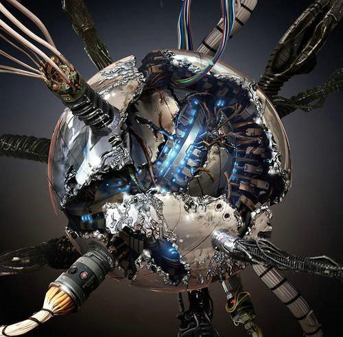 《变形金刚3》机体设计图欣赏4