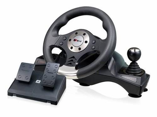 赛车手感之王  莱仕达极速V6方向盘