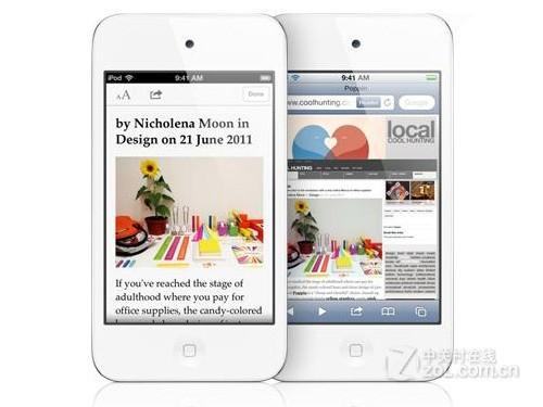 白色32GB版本iPod touch 4报价2090元
