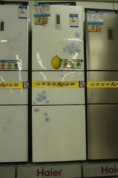玉丁香外观 海尔bcd-252ksf冰箱简评