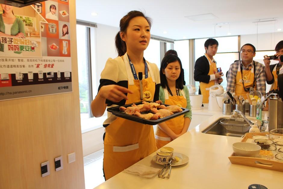 分享烹饪乐趣 直击松下上海美食沙龙