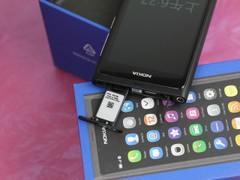诺基亚 N9 黑色 卡槽图