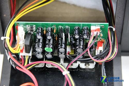 惠威d1080-iv音箱拆解:滤波电路部分