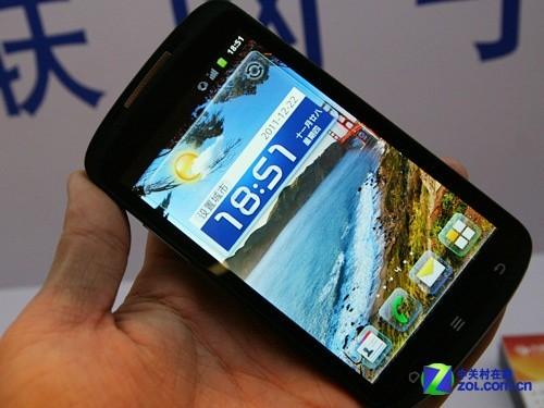 高通 中国电信产业链年会在京召开 -电信3G互联网真机展示 手机 手