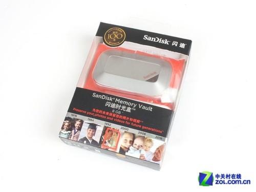影音专储工具 闪迪8G时光盒优盘评测
