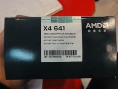 新学期游戏装备 速龙II641零售价490元