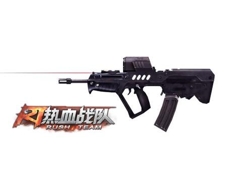《热血战队》全配件TAR-21体验战术枪械的力感