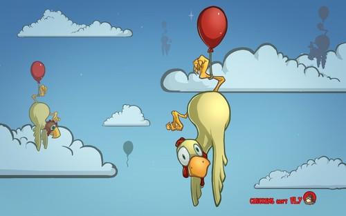微软官方最新Win7桌面主题:鸡不会飞