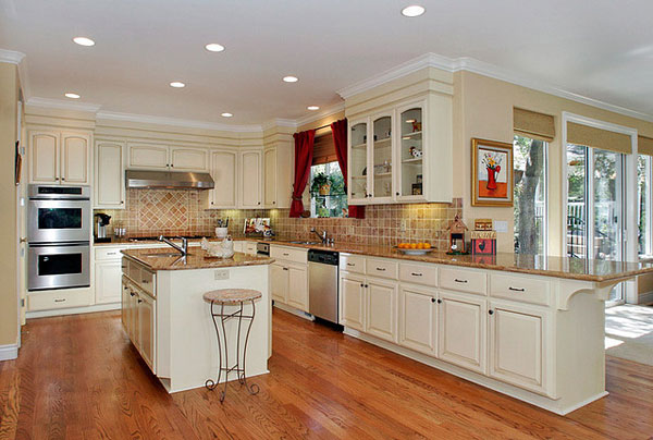 20 10 zol for Large galley kitchen design ideas