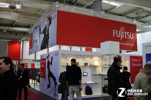 CeBIT 2012:富士通至强E5服务器亮相