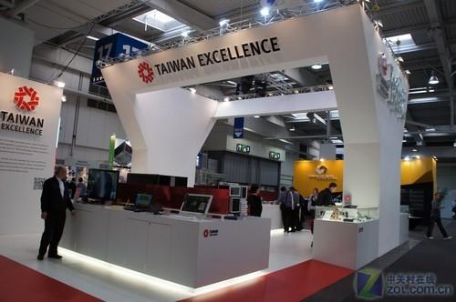 CeBIT 2012:微星电脑亮相台湾馆(图)