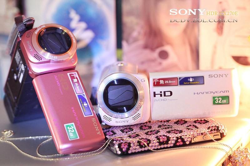 索尼 SONY HDR CX270E图片欣赏 第2张