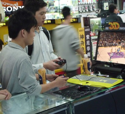 NBA 3D体验赛-莱仕达灵翼二代玩家必备