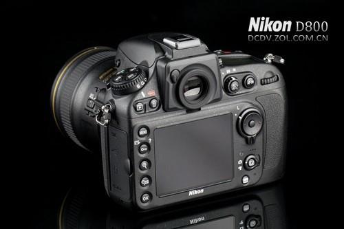 3600万像素全画幅 尼康D800外观细节图赏