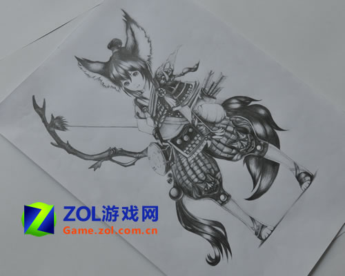 斗战神玉狐第二层_《斗战神》玉狐唯美游戏截图