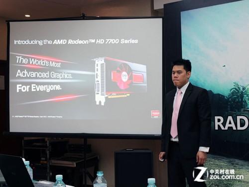 大陆专版显卡 HD7750中国版发布会报道