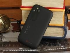 HTC T328w 黑色 背面图