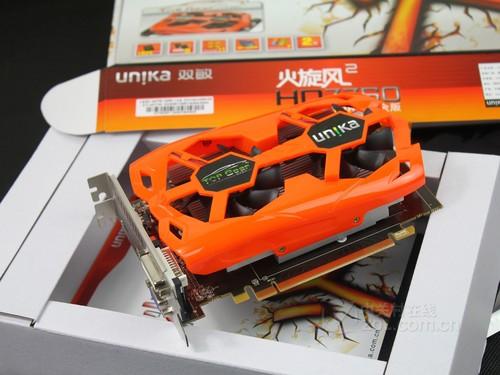 跑车散热设计理念 双敏HD7750售价799元