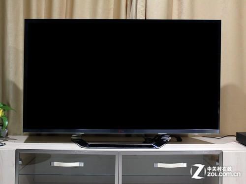 极致无边框设计 lg智能电视拆箱测试