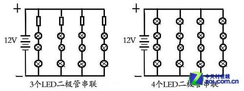 led发光小风扇电路图
