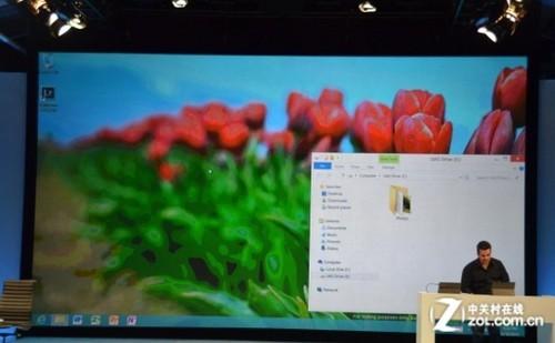 微软展示新Win8桌面界面 Aero Glass确认被取消