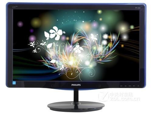 飞利浦227E3QPHSU液晶显示器的外观-IPS HDMI 飞利浦全高清液晶高清图片