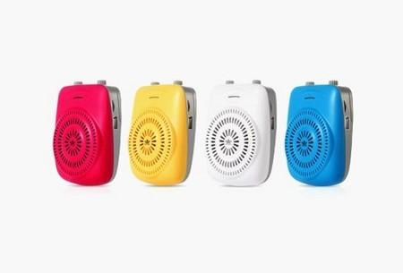 双音圈扬声器朗琴扩音器K100仅售99元