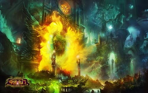 《神鬼传奇》年度资料片命运之门 魔幻公测