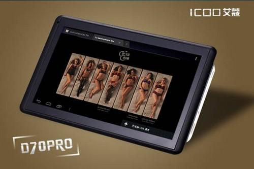 RK3066双核499元ICOO艾蔻D70PRO上市