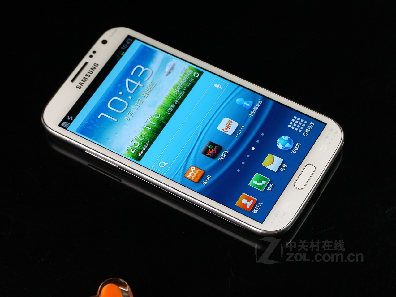Одесса Cdma Android 4.1 For Samsung Galaxy N719 Note 2 N7100 Smartphone