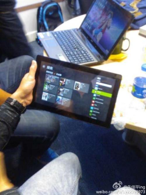 近期发布 微软Surface平板真机抵上海