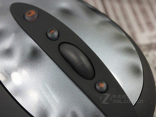 罗技 G400黑色 细节图