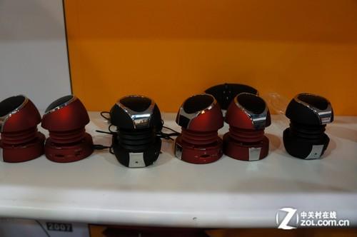 2012香港电子展:声湃思新口袋音响展出