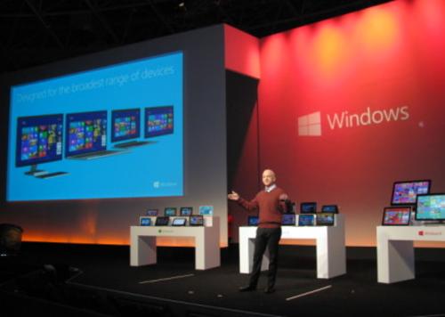 Windows 8震撼来袭 图文直播敬请期待