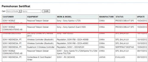 索尼全新入门级机型Xperia E&Dual曝光