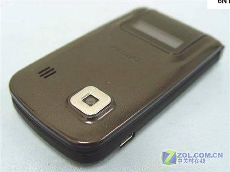 图为飞利浦公司的新款超薄翻盖手机高清图片