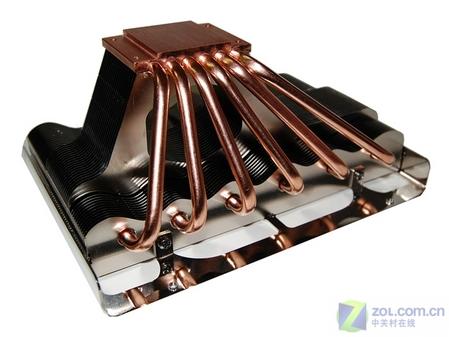 底部有6根纯铜导热管