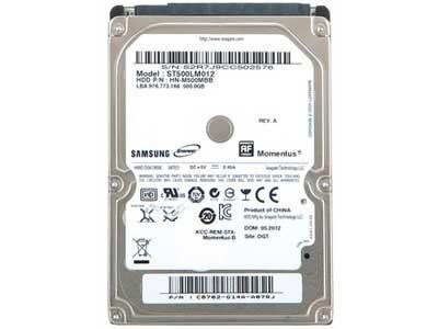 希捷 500GB 5400转 8MB SATA2(ST500LM012)