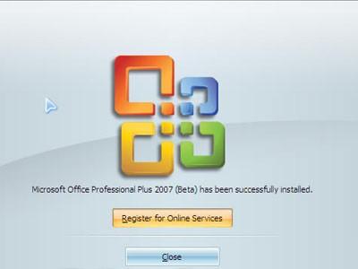 Microsoft office 2007英文标准版