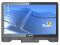 """神舟 奔驰 M10 D2 一体式电脑 办公商用 21.5\""""屏幕 G550S双核处理器 主频2.6G"""