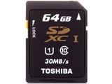 东芝SDXC UHS-I卡 Class10(64GB)/SD-K64G2R7W