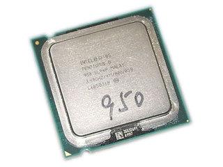 Intel 奔腾D 950(散)