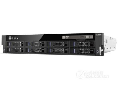 曙光 I420-G10 16盘位((Xeon E5-2407*1/1*8GB/9*300GB/SAS卡*2)
