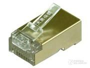 大唐保镖 超五类镀金水晶头DT2802-5DP