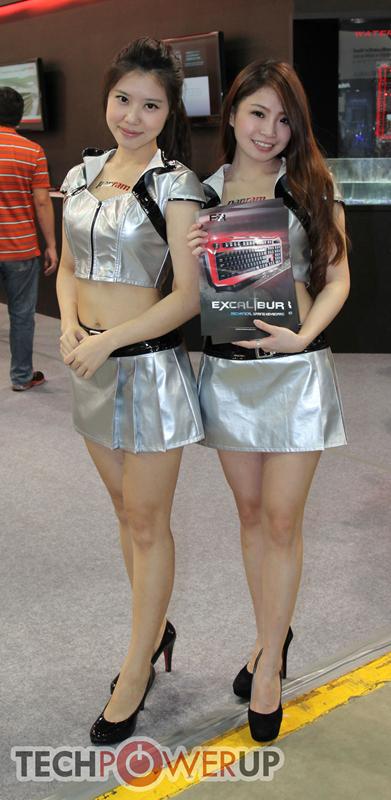 台北电脑展又一大波妹子来袭 130张ShowGirl美图一网打尽的照片 - 87