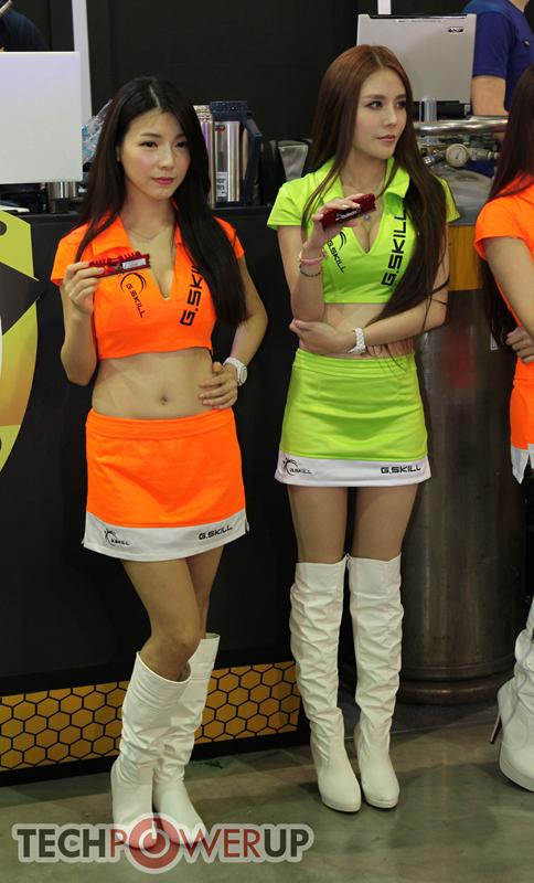 台北电脑展又一大波妹子来袭 130张ShowGirl美图一网打尽的照片 - 6